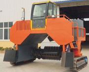 大型翻堆機-履帶式翻堆機-發酵翻堆機