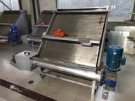 水切式固液分離機